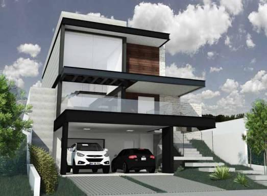 Casa Em Desnível