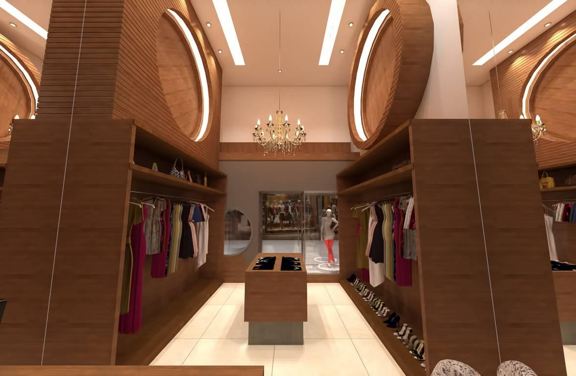 Projeto de uma loja de shopping moderna e prática.